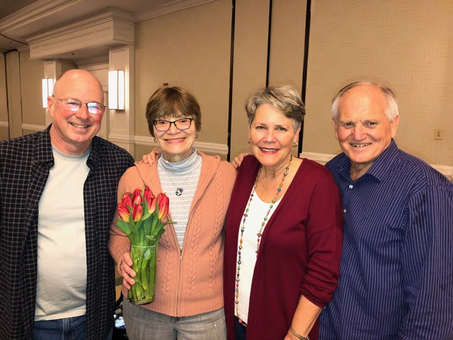 Almost twenty years in to our friendship with Dave and June Bullock, it was a joy to be partnering in ministry again this weekend. Bullock led worship the first 6 or so years of the marriage retreat.