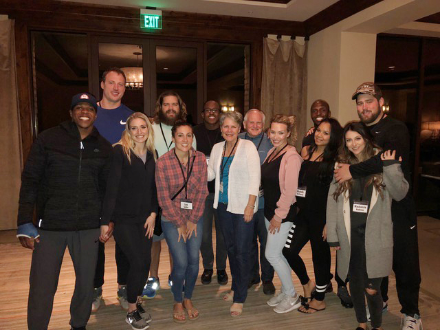 """Some of our Patriots couples who attended the """"Increase"""" conference in Arizona."""