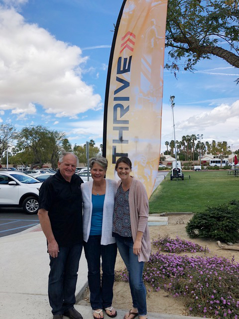 We loved serving at the Southwest Thrive Conference, and especially sweet was having Lisa with us.