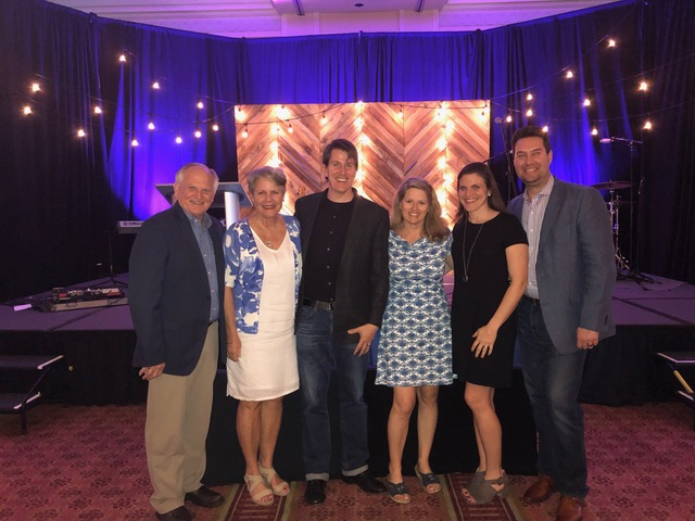 Closing night: we wrapped it up with Bill and Christi Bachman and Derek and Julie.