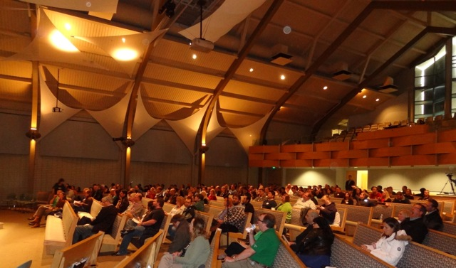 Over 200 people came out on this rainy St. Patrick's Day for the marriage conference at Journey of Faith.