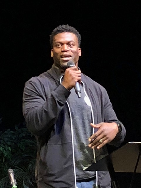 "Benjamin Watson spoke powerfully on the truth that following Christ is truly ""worth it."""