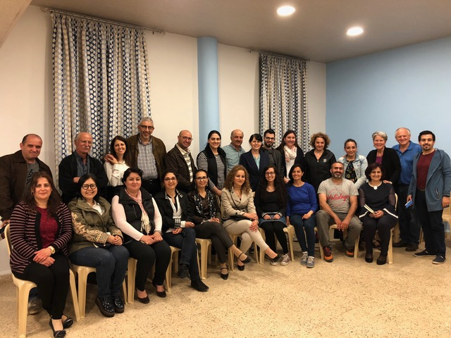The marriage night in Anjar provided many sweet reconnections for Raffi and Kayane who served this community for 18 years, prior to moving to Beirut 4 years ago.