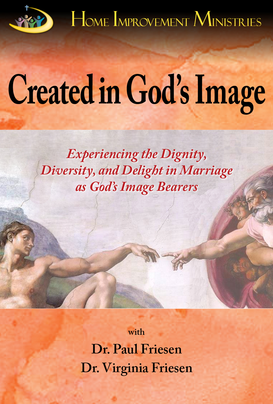 Created in God's Image - Adam and Eve were created in the image of God, in the image of the Trinity. Since we also are created in the image of the Godhead, perhaps we ought to more fully reflect the character and interaction they experienced. This video series will help you practically experience the unity God designed for us in marriage. Learn how to more fully celebrate your diversity as male and female. Discover how we often, unknowingly, do not treat our mate with the dignity befitting one who is created in the image of the King of Kings and Lord of Lords. Experience the delight of reflecting God's image to your spouse and becoming all God wants you to become.