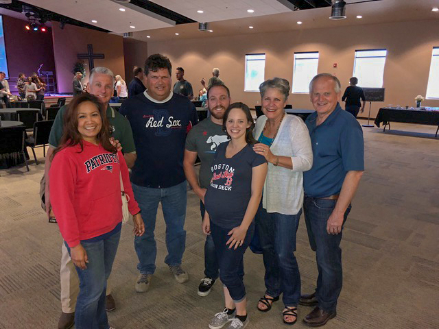 We always feel the love . . . Red Sox (and Patriots) fans in Tehachapi!!