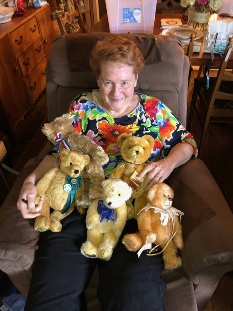 My mom and her bear babies