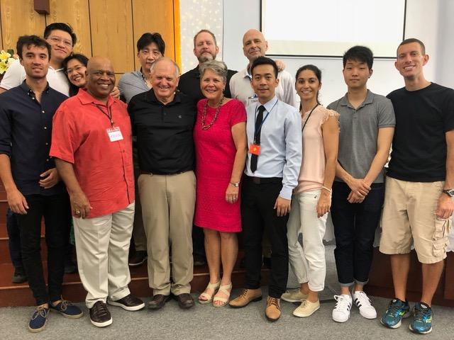 The leadership team at the International Church