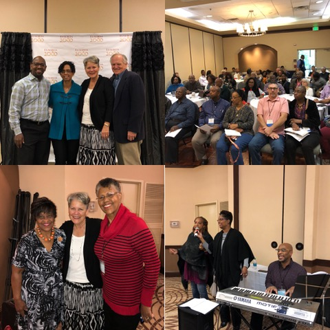 """At the """"Eusebia"""" conference, we were privileged to partner with Harold and Dahlia Arnold."""