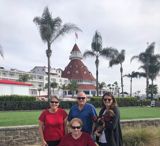 One of our favorite field trips included a stroll through the Hotel del Coronado on a beautiful Southern California day.