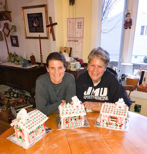 The 47th annual making of the gingerbread houses was accomplished.