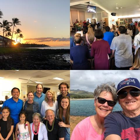 More Kauai . . . such sweet memories and wonderful fellowship.
