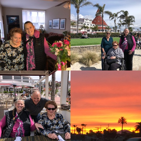 Great moments on Coronado Island as well as a gorgeous sunrise to reward an early start one day.