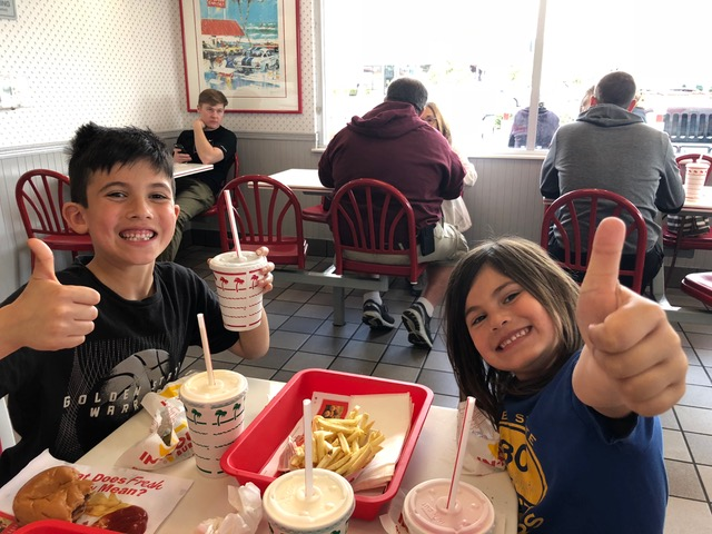 As concerned as Brandon and Ana were about Micah, they managed to forget their fears temporarily while enjoying lunch at In N Out Burger.