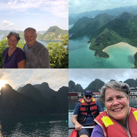Our time in HaLong Bay was full of delight and beauty. We found it refreshing and renewing and 24 hours after arriving, we flew to Ho Chi Minh City for five more days of ministry.