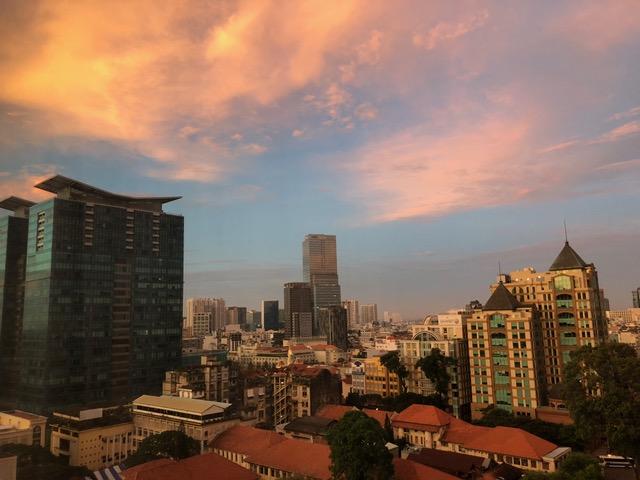 Good morning, Ho Chi Minh City!