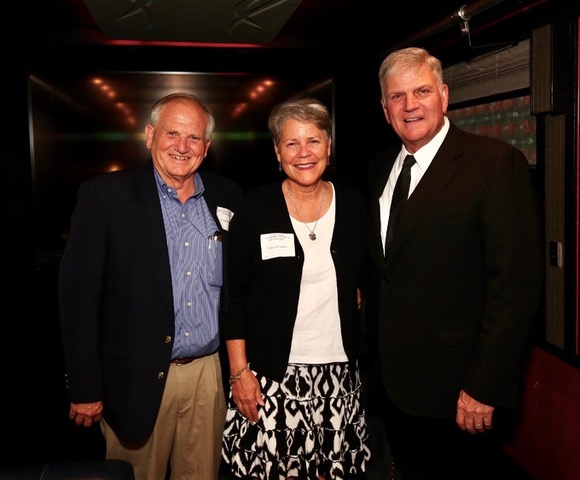 Franklin Graham kindly indulged his daughter Cissie's request that he meet with us privately. Such a sweet gift!!