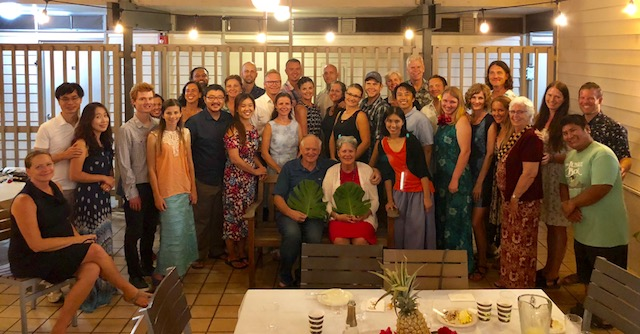 """The """"Ohana Feast"""" was a very special evening, with yummy food and sweet fellowship."""