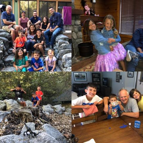 So much family fun!