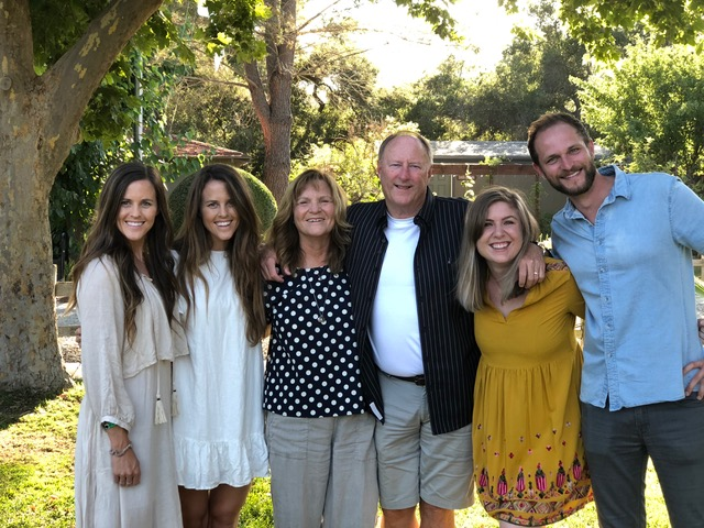 Such a delight to have almost all the Johnstons with us (sans Mark and Gia); Leslie and Christy served on staff.