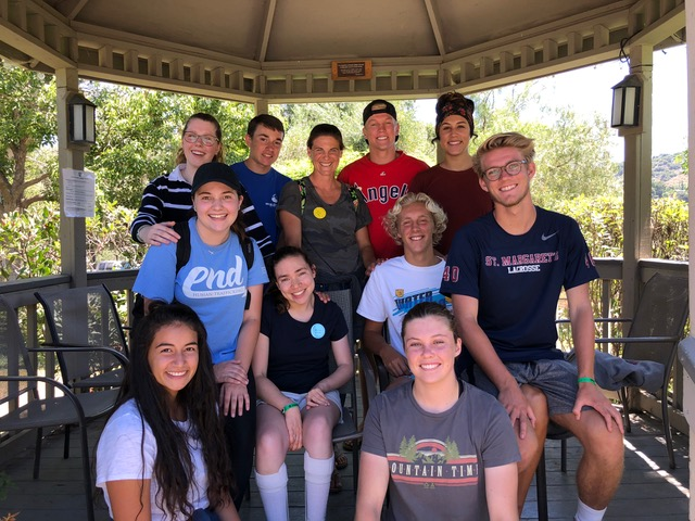The college group, led by Lisa Friesen, was alive and so hope-giving!! An amazing group of young people these are. (Four others were also in the group for part of the week.)