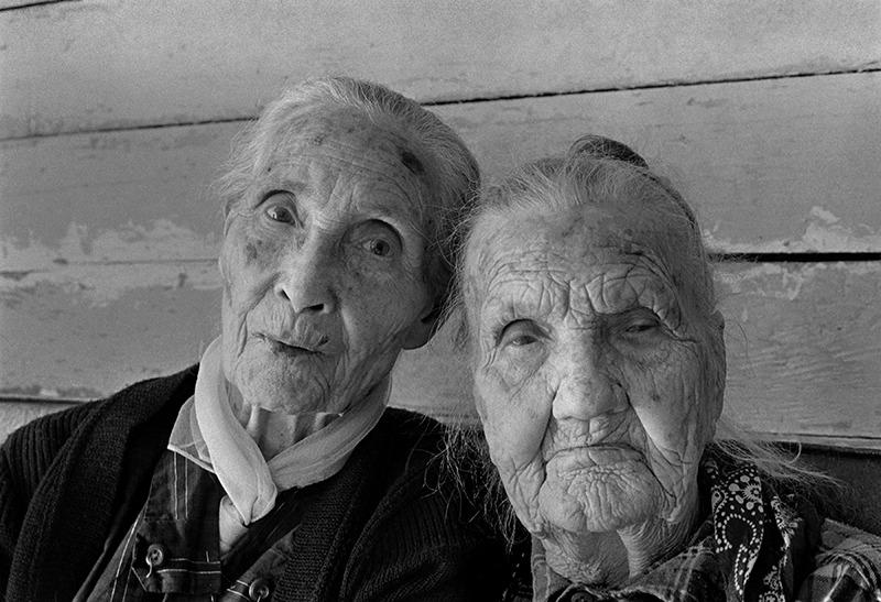Berzilla Wallin (left) and Her Aunt, Zipporah Rice, Rice Cove, NC