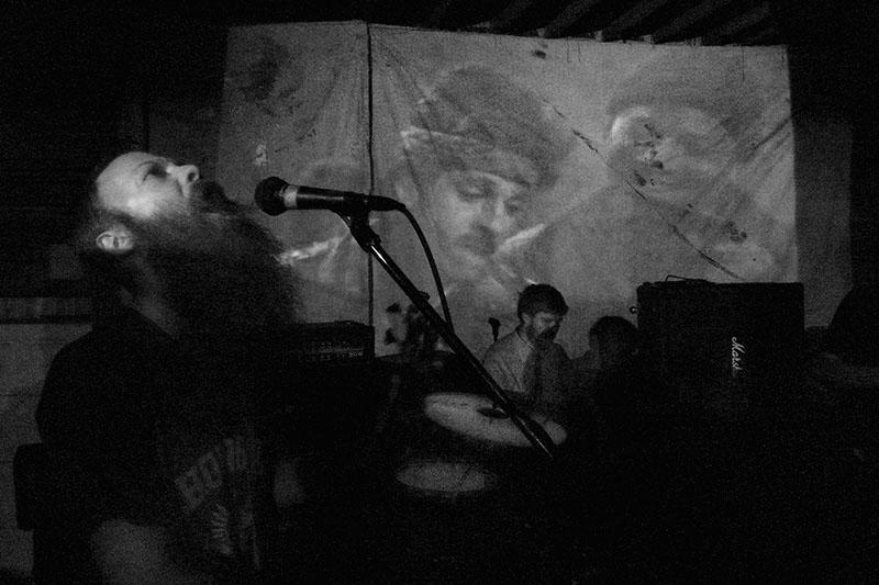 Greg Mosser Singing at Jamie's Birthday Party, Marshall, 2010.