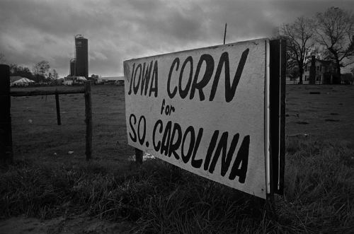 Relief Corn Shipment, Greenville, South Carolina, 1986