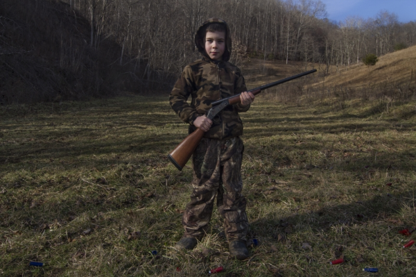 Gusten Hess, Sprinkle Branch, Madison County, NC, New Years Day, 2014.