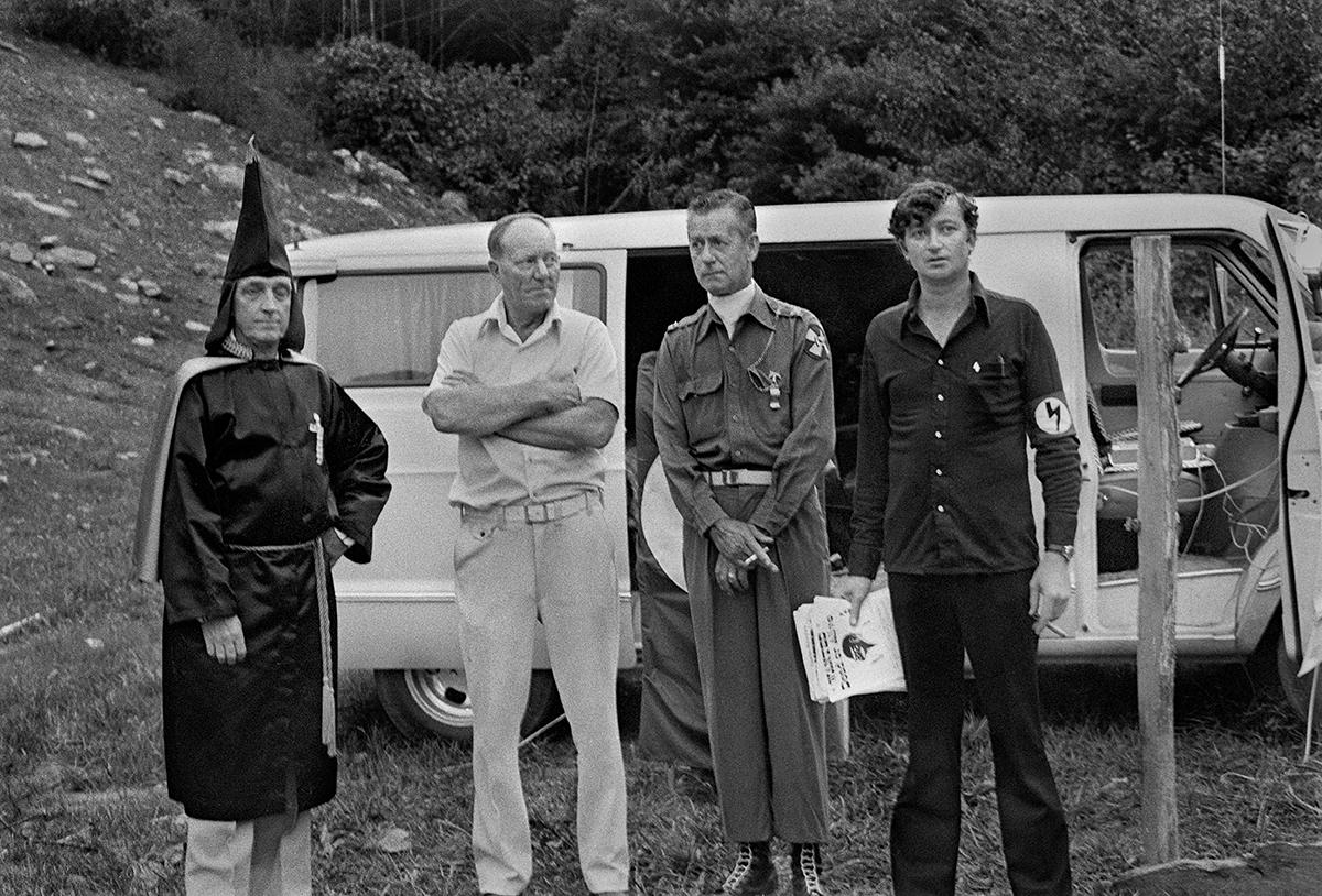 KKK Rally, near Wolf Laurel, Madison County, NC 1976