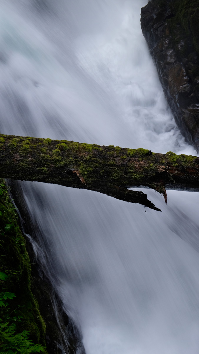 Sol Duc Waterfall, Olympic National Park, Washington, 2014.