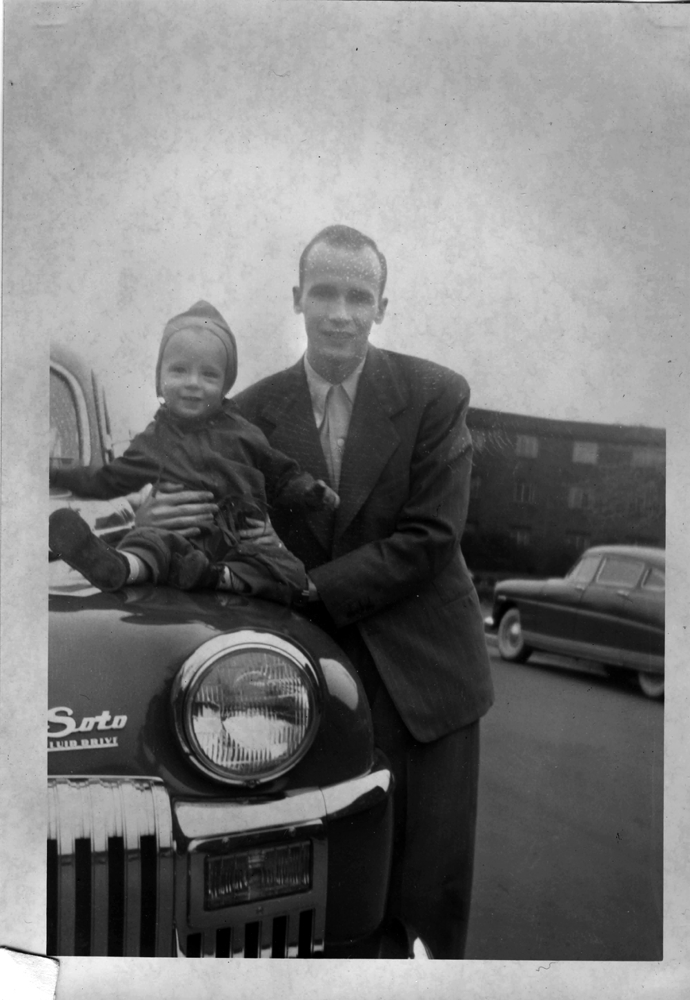 Dad and Me, Washington, DC, 1948