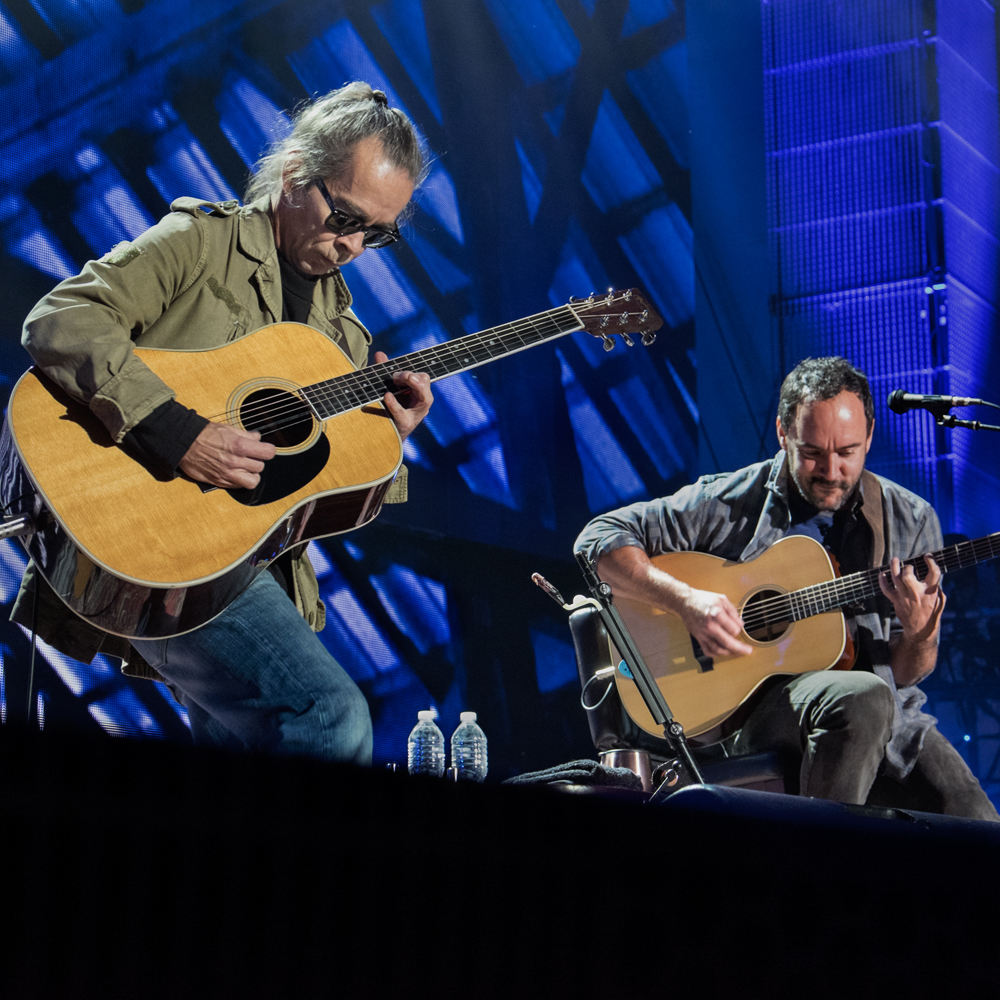 Tim Reynolds and Dave Matthews