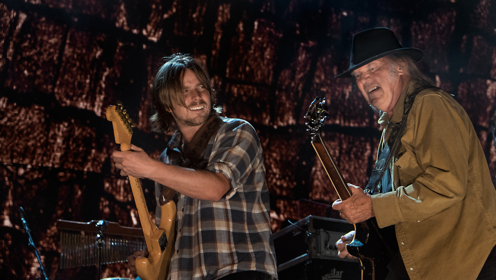 Lukas Nelson and Neil Young