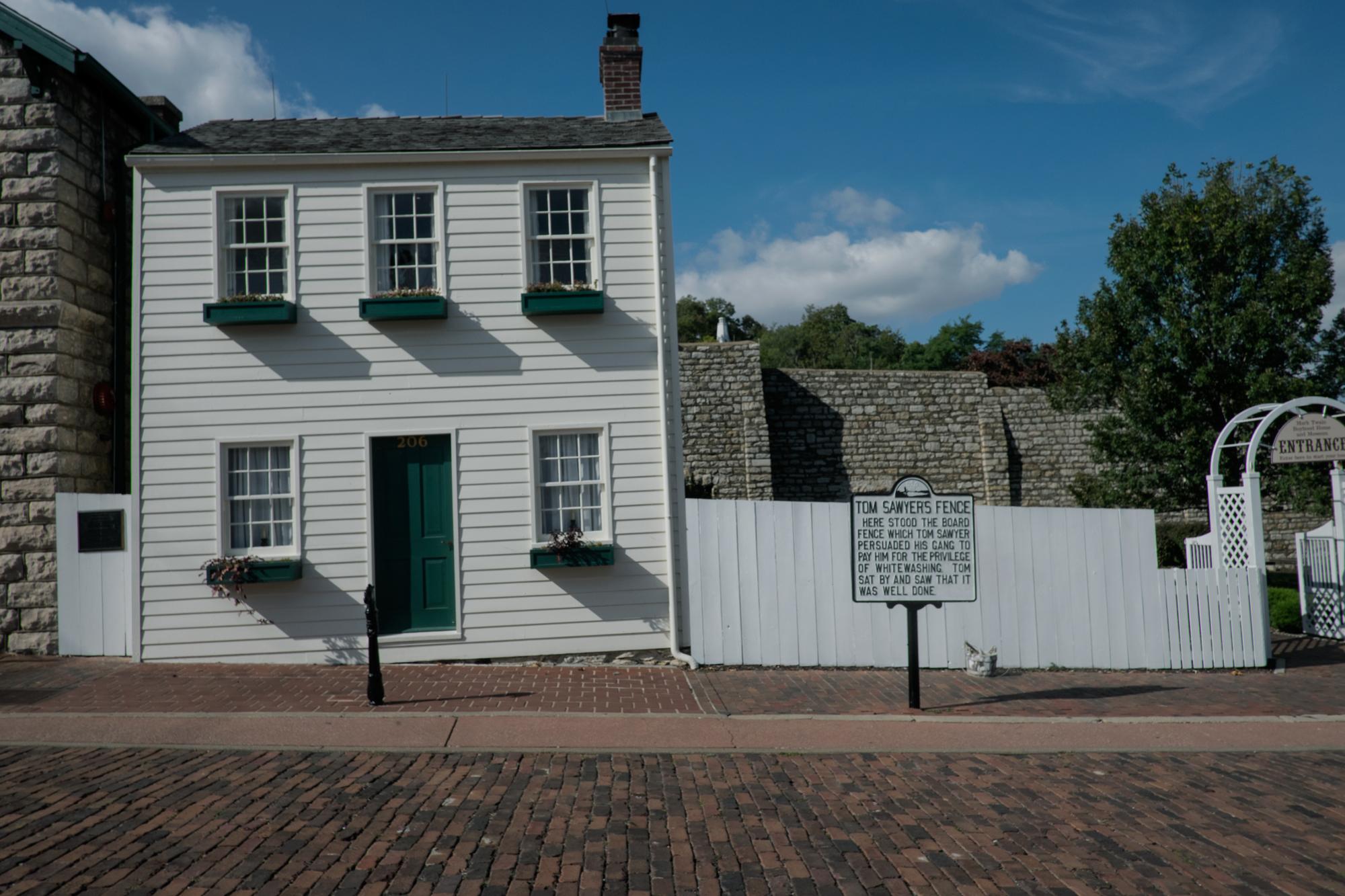 Mark Twain House and Museum, Hannibal, Missouri