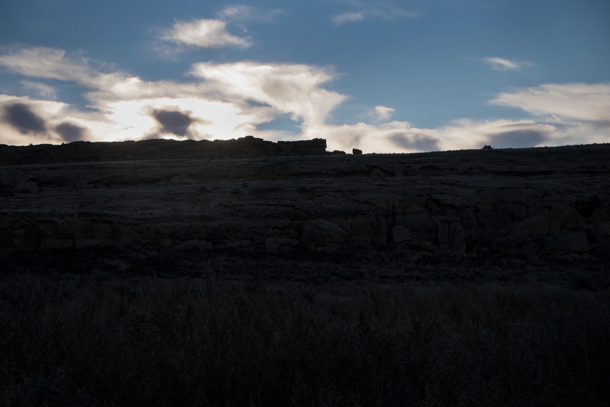 Sunrise, Chaco Canyon, New Mexico