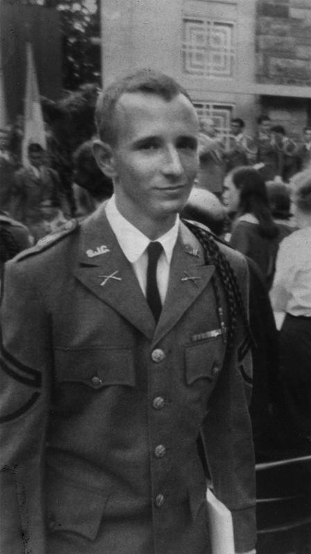 High School Graduation, 1965.