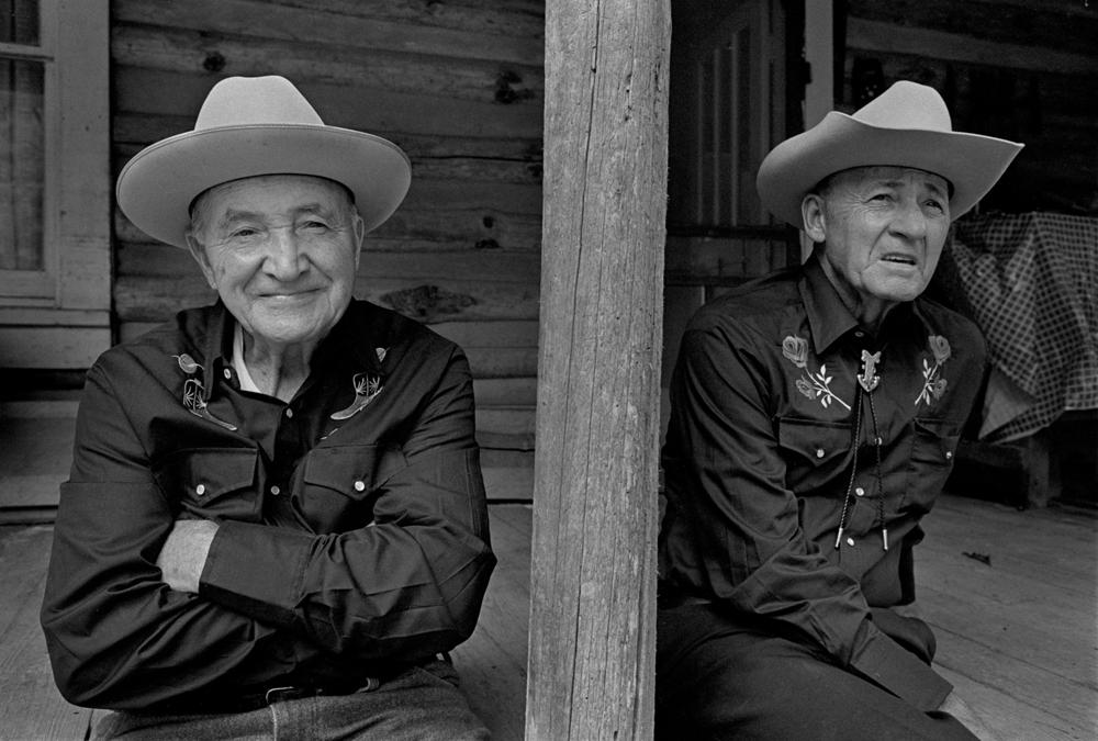 Doug (left) and Jack Wallin, Sodom, Madison County, NC 1994