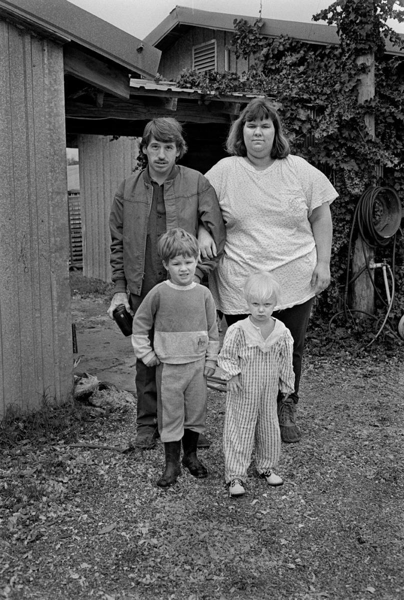 Poultry Worker Family, Samson, AL 1994