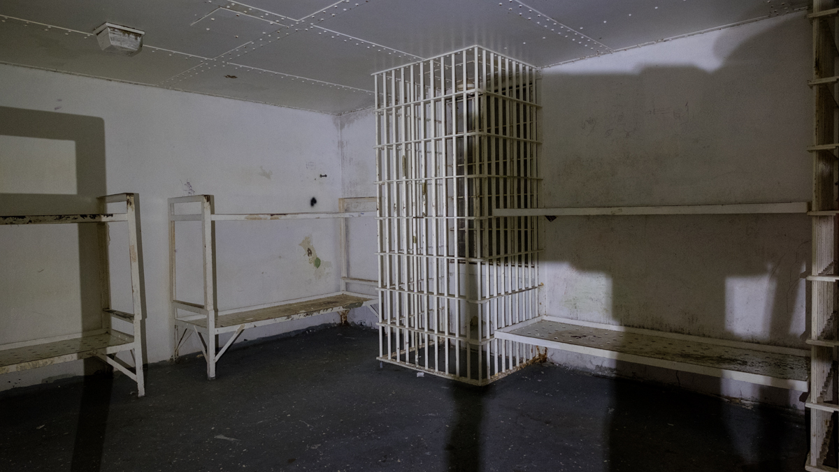 Dormitory Cell, the Old Jail, Marshall, NC 2016