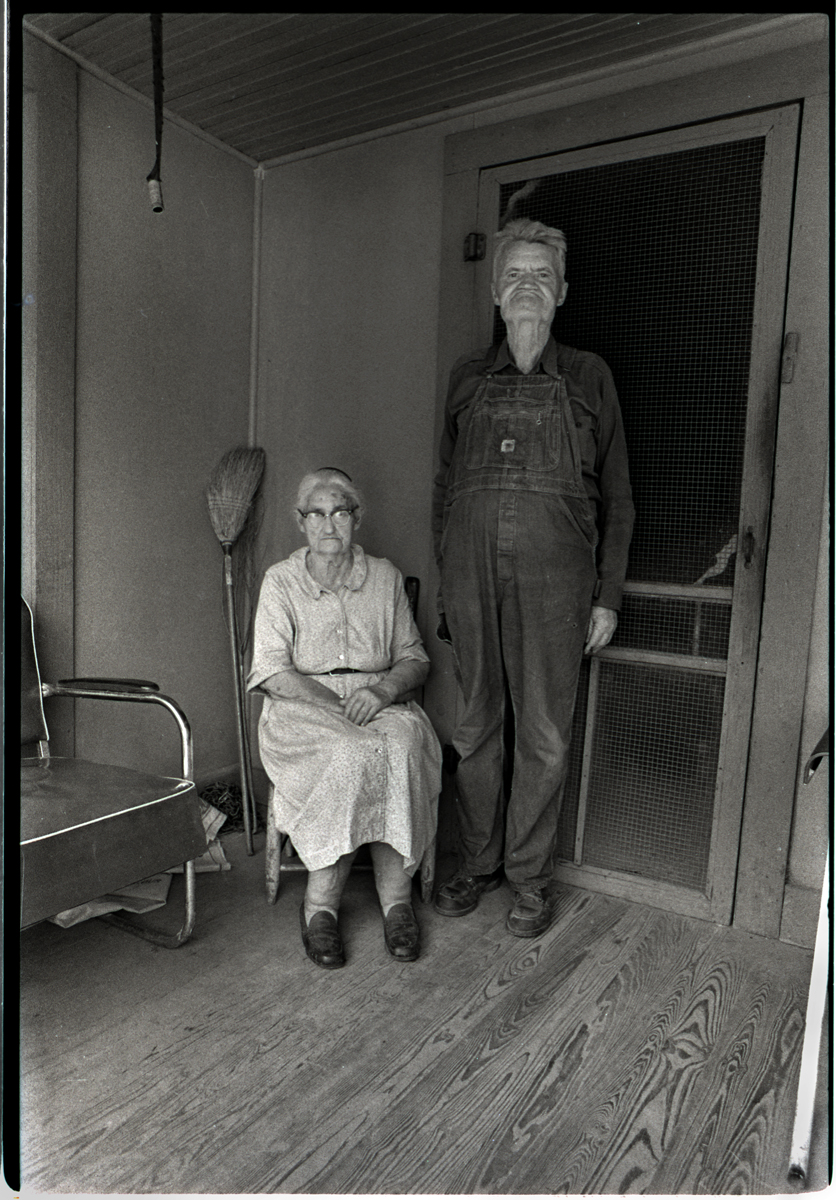 Molly Chandler and her son, Starlin, Sodom, Madison County, NC 1977