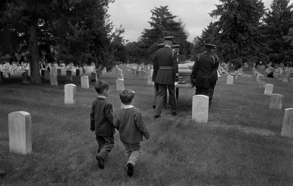 My cousins at the funeral of my Italian immigrant grandmother, Jenny Lozupone Galeano, Arlington National Cemetery, Washington, DC, 1995.