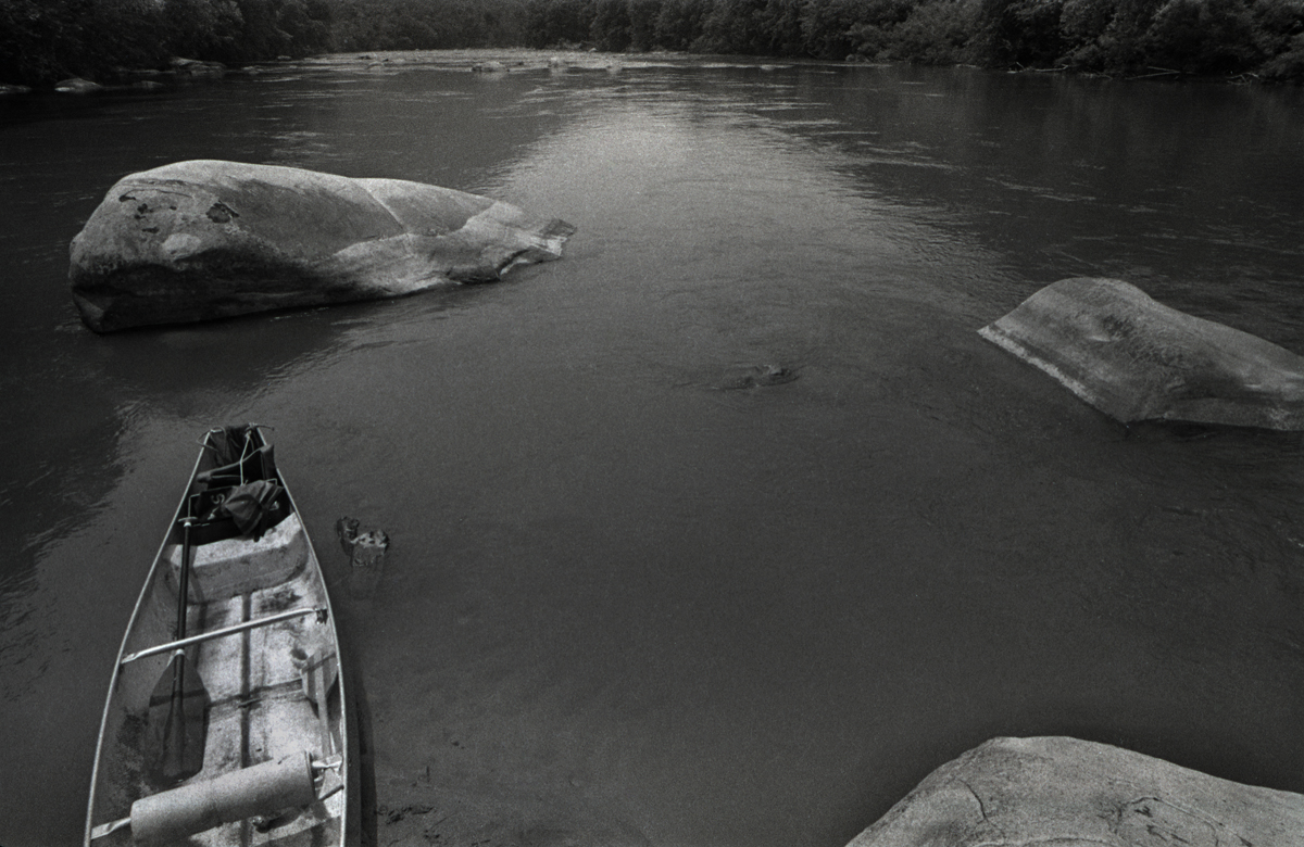 French Broad River, Madison County, 1978.