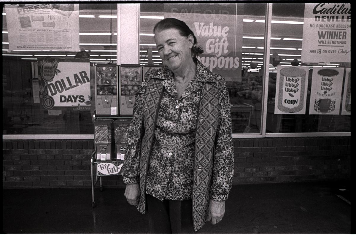 Belva Wallin Cutshall, Marshall Bypass, Madison County, NC 1979