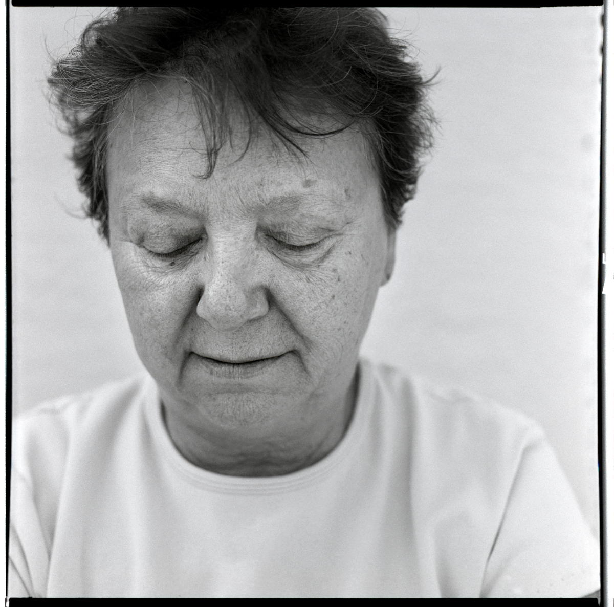 "My First Cousin, Dolores Oliveri, Ft. Lauderdale, FL 2011. - from the series ""Staring"""