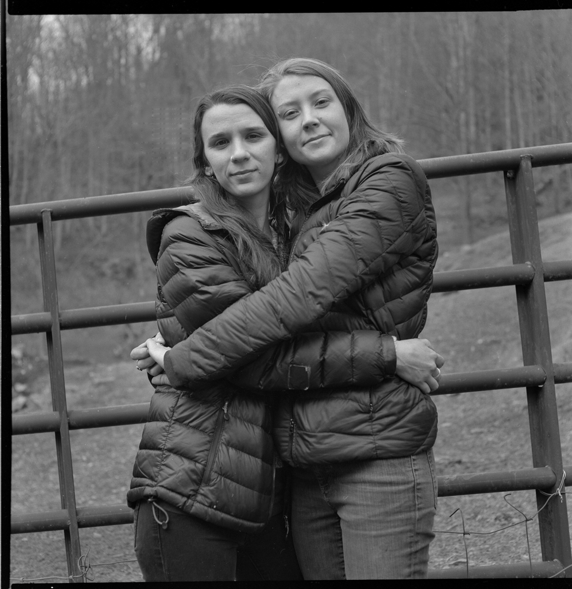 Kate and Kelsey, PawPaw, Madison County, NC, February 2019