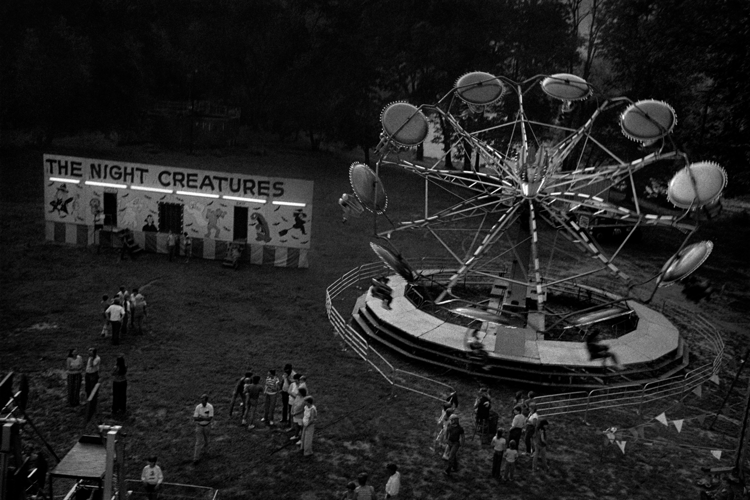 Carnival on the Island, Marshall, Madison County, NC 1983
