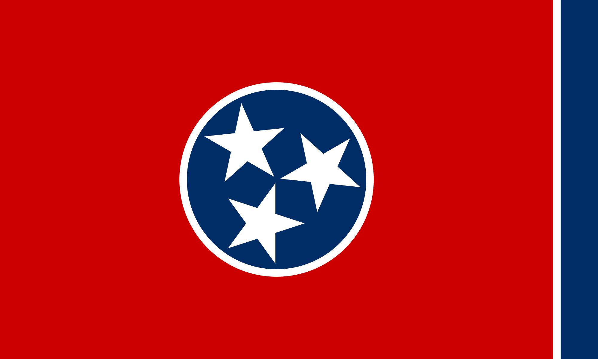 The Tennesse Flag. It's pretty rad.