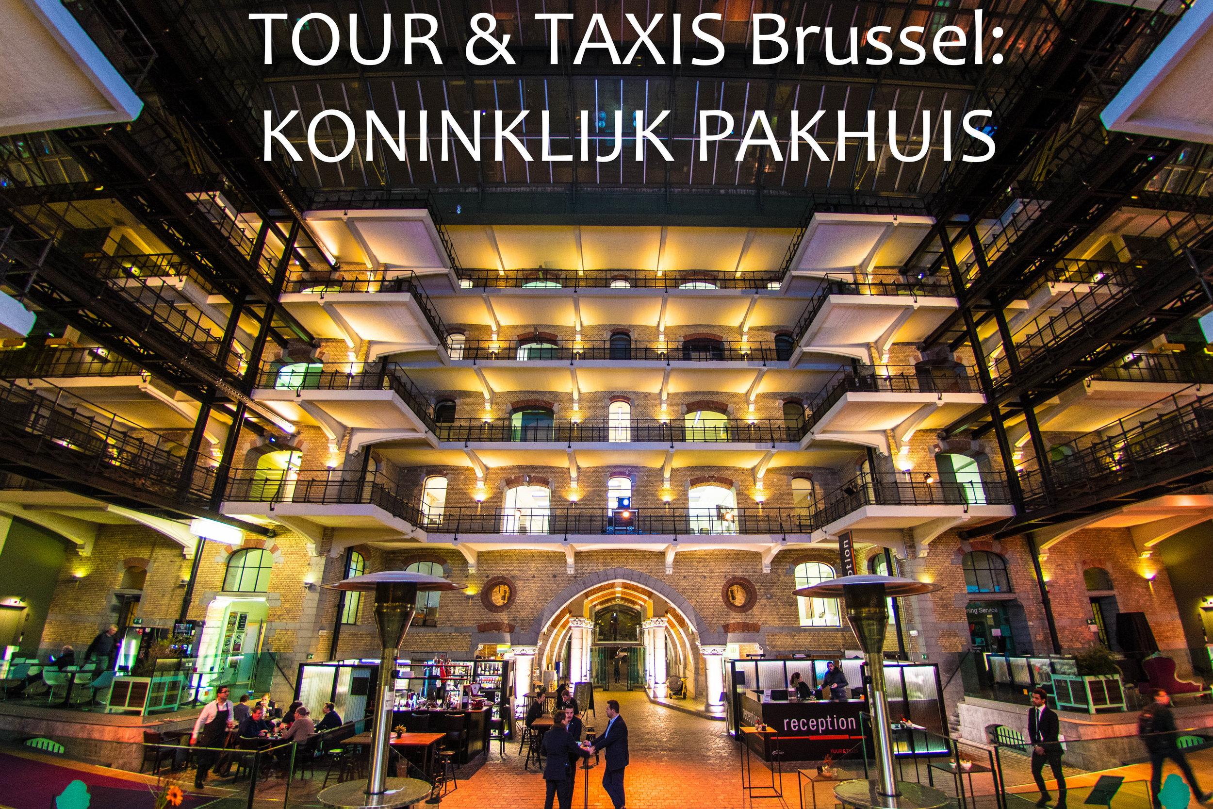 Tour & Taxis Koninklijk Pakhuis FOODstories NL