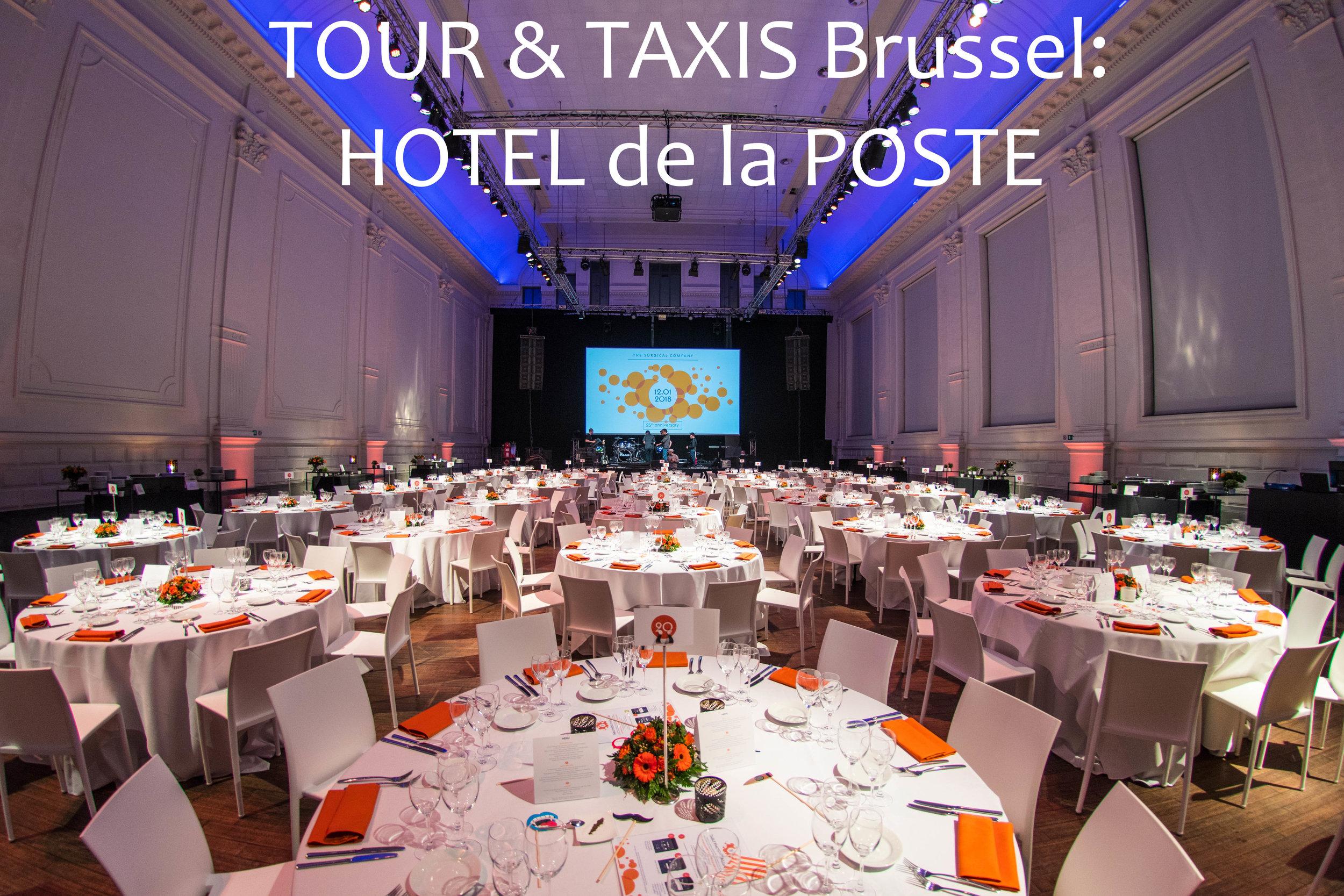 Tour & Taxis Hotel de la Poste FOODstories NL