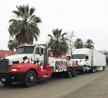 We Do Heavy Duty Towing! - Brown's Towing is one of the few licensed heavy duty tow operators in the area. Call us for our expertise to get your heavy duty vehicle home safe!